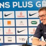 """Laurent Blanc: """"Nos hemos reencontrado"""""""