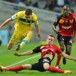 El Nantes respira a costa de un Guingamp que se mete en un lío