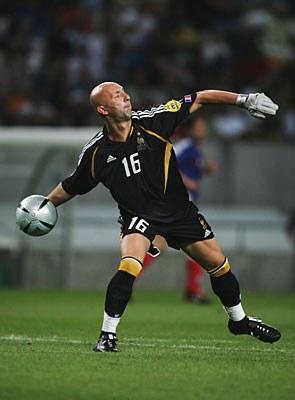 Barthez durante el Mundial 2006