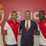 Carvalho y Abidal, un año más en Mónaco