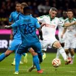 Inter de Milán 0-0 Saint-Étienne: Les Verts siguen sin marcar en Europa