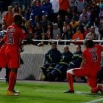 APOEL 0-1 PSG: Y Cavani agarró su fusil
