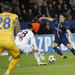 PSG 1-0 APOEL: Partido en la oficina