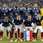 Convocatoria de Francia para Alemania e Inglaterra