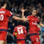 Lucas Moura es otro gracias a Ibrahimovic