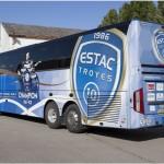 El ESTAC Troyes moderniza su autobús