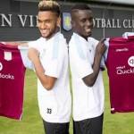 Amavi y Gueye presentados con el Villa