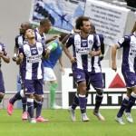 Toulouse 2-1 Saint-Étienne: Remontada a balón parado
