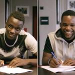 Diakhaby y Kalulu firman su primer contrato pro con el OL