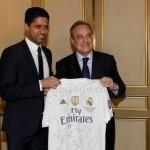 El presidente del PSG, visto en Madrid