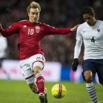 Dinamarca 1-2 Francia: La mejor racha de Deschamps
