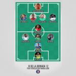 El mejor XI de la jornada 12 en la Ligue1
