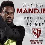 Mandjeck renueva con el Metz