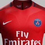 La segunda camiseta del PSG será roja
