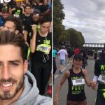 Maxwell y Trapp participan en los 10 kilómetros de París
