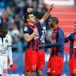 Caen 1-0 Niza: Llegó la derrota del líder