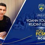 Yoann Touzghar, nuevo delantero del Sochaux