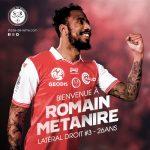 Métanire, nuevo futbolista del Reims