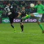 """Saint-Étienne 2-1 Angers: La """"mano de D24S"""" deja los puntos en casa"""