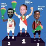Germain deportista del año de la Costa Azul