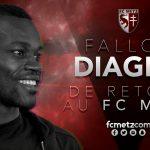 Fallou Diagne llega cedido al Metz