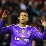 Varane, lesionado en el Real Madrid