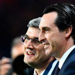 La reacción de Emery tras la victoria ante el Lyon