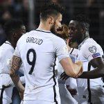 Luxemburgo 1-3 Francia: Victoria y debut de Mbappé