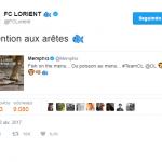 El cachondeo en Twitter de los equipos de la Ligue1