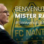 OFICIAL: Claudio Ranieri, nuevo entrenador del Nantes