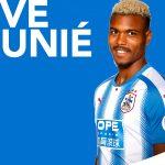 Steve Mounié, nuevo delantero del Huddersfield