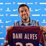 Dani Alves, nuevo jugador del PSG