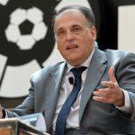 Tebas, el PSG y la cláusula de Neymar