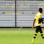 Dembélé no se entrenó con el Dortmund