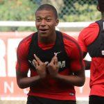 Mbappé fue suplente ante el Dijon