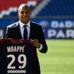 Mbappé y su presentación con el PSG