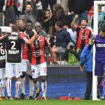 Niza 4-0 Mónaco: Resbalón bajo la lluvia