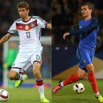 Francia y Alemania se medirán en noviembre