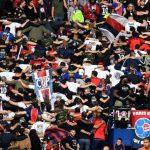 El PSG, sin aficionados en Marsella