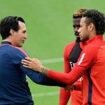 Emery manda un mensaje sobre Neymar