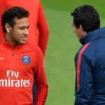 Neymar no para de quejarse de Emery