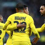 Angers 0-5 PSG: Alves y Mbappé se lucen