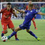 Ben Arfa sigue entrenando fuerte con el PSG
