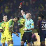 Nantes 0-1 PSG: El árbitro Chapron, protagonista del encuentro