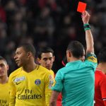 Kylian Mbappé conoce la sanción después de su primera expulsión