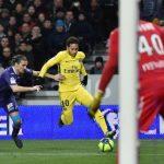 Toulouse 0-1 PSG: Neymar da una victoria merecida al París