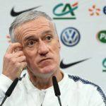 """Deschamps: """"Si están bien, la mayoría tienen opciones de Mundial"""""""