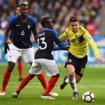 Francia 2-3 Colombia: Remontada colombiana en Saint-Denis