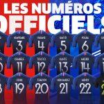 Se conocen los dorsales de Francia para el Mundial de Rusia