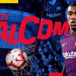 El brasileño Malcom, nuevo jugador del FC Barcelona